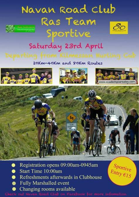 23rd April Sportive