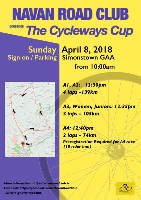 NRC-Cycleways 2018-Reschedule